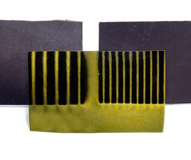片状磁铁的磁化方式